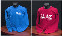 (Photo - SLAC logo sweatshirt)