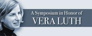 (Image - Vera Luth symposium banner)
