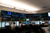 (Photo - SLAC's Main Control Center)