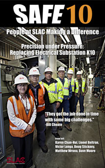 (Poster - substation replacement team members)