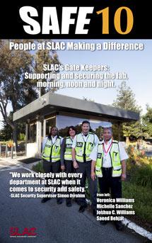 (Photo - SLAC Security team members)