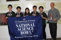 (Photo - 2010 regional Science Bowl winners, Palo Alto High School)