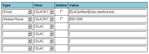 (Image - signing up your phone number for SLAC911)