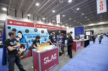 (Photo - SLAC booth at AAAS)