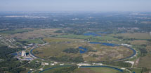 (Photo - Fermilab from the air)