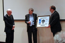 (Photo - Kavli Building dedication)