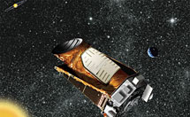 (Image - Kepler in space)