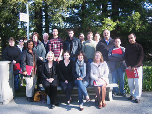 (Photo - new SLAC staff January 6, 2011)