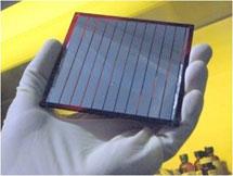(Photo - organic solar cell)