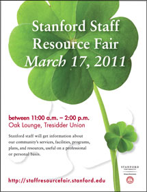(Image - Staff Resource Fair flyer)